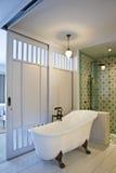 kąpielowy wewnętrzny pokój zdjęcia royalty free