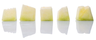 Kąsek miodunki Sklejona owoc II zdjęcia stock