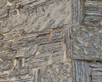 Kąt Łupkowa kamieniarz ściana Obrazy Royalty Free