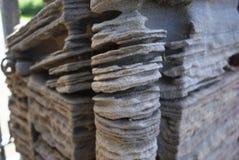 Kąt żlobi piaskowcowy filar Zdjęcie Royalty Free