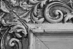 Kąt art deco obrazka rama dla abstrakta lub tła Obraz Royalty Free