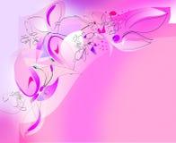 kąt motyla kwiaty lewy górny Obrazy Royalty Free