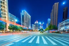 Kąt nowożytna miasto ulica obraz royalty free