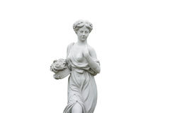 Kąt statua odizolowywająca Zdjęcie Stock
