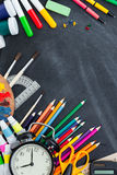 kątomierz zamknięta cyrklowa szkoła ximpx cyrklowy Obraz Royalty Free