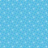 Kędzierzawy kwiecisty bezszwowy wzór Obraz Royalty Free