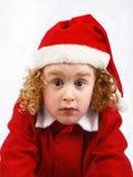 kędzierzawy mały Santa Zdjęcia Royalty Free