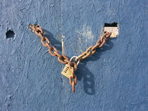 Kędziorek i łańcuch Zdjęcie Royalty Free