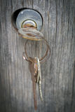 Kędziorek i klucze Zdjęcie Royalty Free
