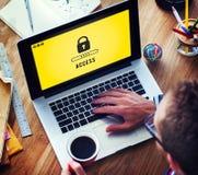 Kędziorek ikony hasło Ochraniający Graficzny pojęcie zdjęcie royalty free