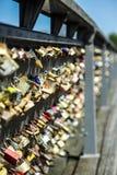 kędziorek miłość Paris Zdjęcia Stock