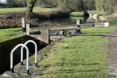 Kędziorki lokalizować na Chesterfield kanale fotografia stock