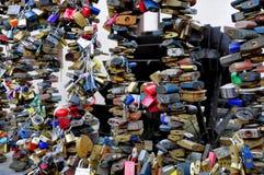 Kędziorki miłość Zdjęcia Stock
