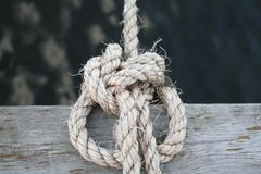 Kępki żeglowania kępka Ahoy - Zdjęcia Royalty Free