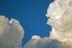 Kłębić się cumulus chmury Obraz Stock