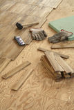 kłaść drewno Zdjęcia Royalty Free