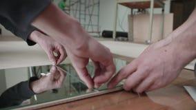 Kłaść lustro płytki zdjęcie wideo