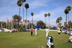 Kładzenie zieleń przy ANA inspiraci golfa turniejem 2015 Zdjęcie Royalty Free