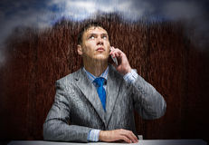 Kłopoty w biznesie Zdjęcie Stock