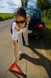 kłopoty z samochodem fotografia royalty free