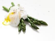 kłusujący asparagusa jajko Obraz Royalty Free