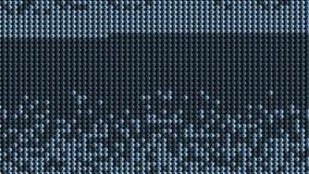 4k微粒加点小珠背景,霓虹扫描大数据,高科技的技术 股票视频