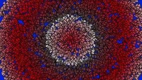 4k扩展圈子包括许多小的泡影水泡三角 向量例证