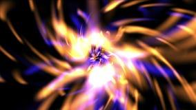 4k摘要火光烟花微粒,光芒光,激光火花,排行背景 皇族释放例证