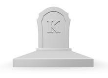 k的死者 库存图片