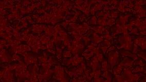 4k血液液体飞溅,水下落小滴,微粒残骸烟花背景 库存例证
