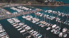 4K豪华小船和小山家 影视素材