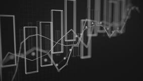4K财务数据概念 向量例证