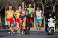 10k赛跑者 库存图片
