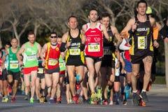 10k赛跑者 免版税图库摄影