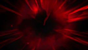 4k雷能量星云宇宙,动乱的预兆微粒闪电爆炸 向量例证