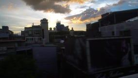 4K, άποψη κτηρίων πόλεων της Ταϊπέι από τα παράθυρα του μετρό φιλμ μικρού μήκους
