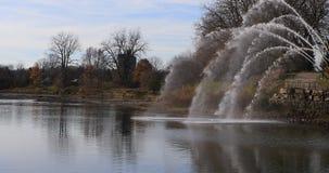 4K άποψη UltraHD του ποταμού του Τάμεση στο Λονδίνο, Καναδάς φιλμ μικρού μήκους