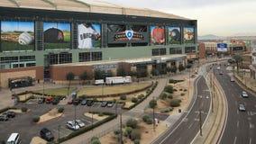 4K άποψη UltraHD Timelapse του τομέα αυλακώματος στο Phoenix, Αριζόνα απόθεμα βίντεο