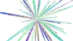 4k αφηρημένο υπόβαθρο γραμμών ακτινοβολίας καπνού, πυροτέχνημα μορίων επιστημονικής φαντασίας ελεύθερη απεικόνιση δικαιώματος