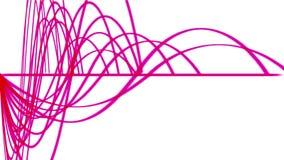 4k αφηρημένο υπόβαθρο γραμμών ρυθμού κυματισμών, υγιές σχέδιο, τεχνολογία σημάτων ραντάρ διανυσματική απεικόνιση