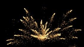 4k αφηρημένο υπόβαθρο πυροτεχνημάτων φλογών χρώματος, σκηνικό μορίων έκρηξης διακοπών διανυσματική απεικόνιση