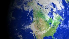 4K γήινο ζουμ: Βανκούβερ †«Καναδάς απόθεμα βίντεο