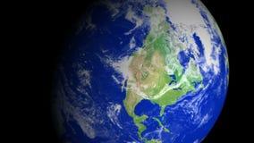 4K γήινο ζουμ: Σαν Ντιέγκο †«ΗΠΑ απόθεμα βίντεο