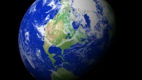4K γήινο ζουμ: Τορόντο †«Καναδάς απόθεμα βίντεο