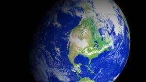 4K γήινο ζουμ: Phoenix †«ΗΠΑ απόθεμα βίντεο