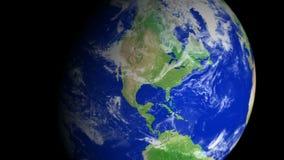 4K γήινο ζουμ: San Antonio †«ΗΠΑ απόθεμα βίντεο