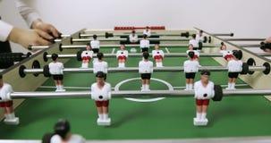 4K επιτραπέζιο ποδόσφαιρο - ένας πυροβολισμός ποινικής ρήτρας δίνεται απόθεμα βίντεο