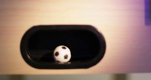 4K επιτραπέζιο ποδόσφαιρο απόθεμα βίντεο