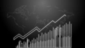 4k επιχειρησιακή αύξηση και ζωτικότητα Infographics βελών επιτυχίας ενός άσπρου νέου επιχειρησιακού infographics ελεύθερη απεικόνιση δικαιώματος