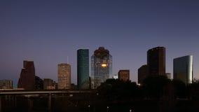 4K ημέρα UltraHD στη νύχτα timelapse του Χιούστον, Τέξας φιλμ μικρού μήκους